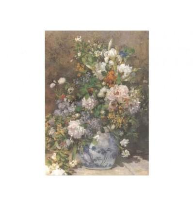 """Tablou pe sevalet """"Buchet de primavara"""" Renoir"""