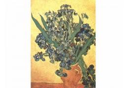 "Tablou pe sevalet ""Irisi"" Van Gogh"