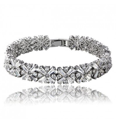 Bratara Cross Diamonds