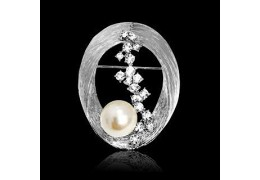 Brosa Pearl and Diamonds Embrace