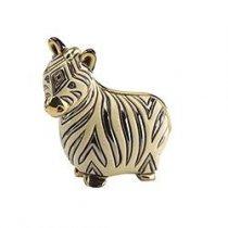 Pui de zebra din ceramica portelanata
