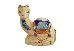 Pui de camila alba din ceramica portelanata