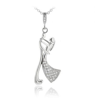 Colier din argint 'Dance With Me'
