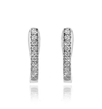 Cercei din argint Fine Crystals