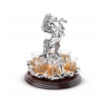 Statueta Suport pentru bauturi fine Verticale Cavallo