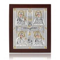 Icoana Bizantin-Ortodoxa Argint 999