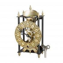 SKELETON - Ceas de birou incrustat cu aur de 24 Kt