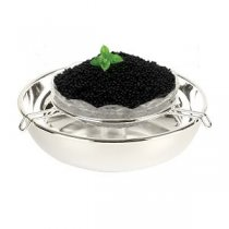 "Suport argintat de caviar ""Delicacy"" by Chinelli"