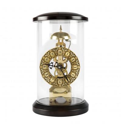 Skeleton ceas incrustat cu aur de 24kt - Made in Spain