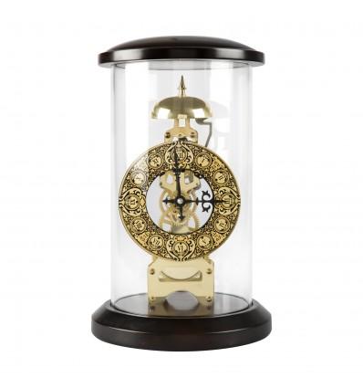 Ceas de birou incrustat cu aur de 24kt by Anframa - SKELETON