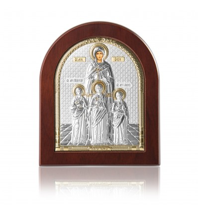 """Sfanta Sofia"" icoana argint pe lemn"