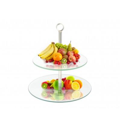 """Suport argintat pentru fructe """"Bon appetite!"""""""