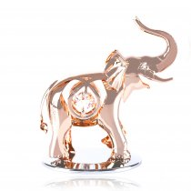"Elefantel cu aur roz si cristale Swarovski ""Dumbo"""