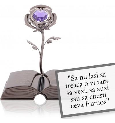 "Goethe- despre viata - Colectia ""Citate motivationale cu cristale Swarovski"""