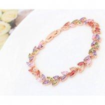 """Bratara cu cristale multicolore """"Rainbow"""""""