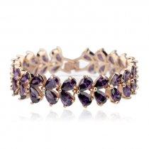 """Bratara cu cristale Swarovski """"Purple Brightness"""""""