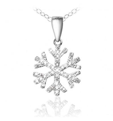 """Colier """"Winter Magic Silver 925 Crystal Diamonds"""""""