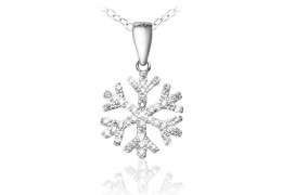 "Colier ""Winter Magic Silver 925 Crystal Diamonds"""