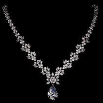 Colier pentru mireasa cu cristale Royalty