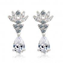 """Cercei candelabru cu cristale """"Royal Diamonds"""""""