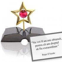Peter O'Toole  - despre excelenta - Colectia citate motivationale cu cristale Swarovski