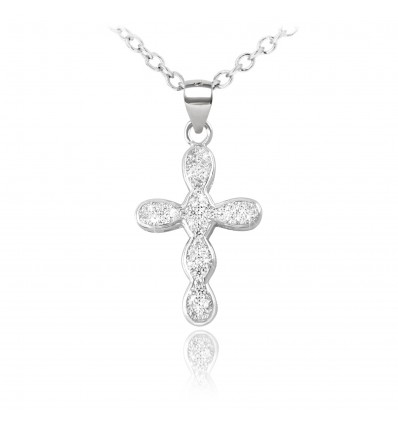"Colier din argint ""Precious Cross"""