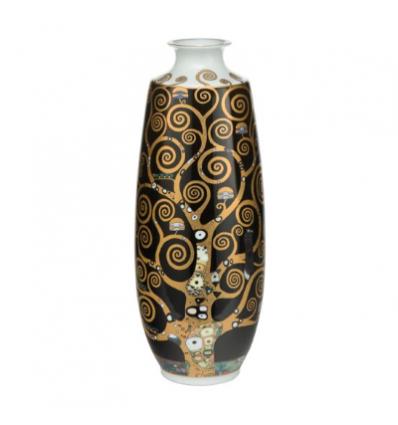Vaza din portelan placata cu aur Pomul Vietii - Goebell
