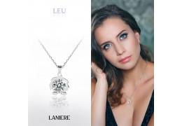 ZODIAC Colier din Argint LANIERE - Zodia Leu