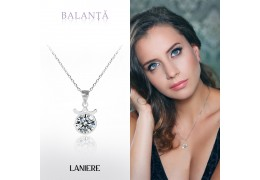 ZODIAC Colier din Argint LANIERE - Zodia Balanta