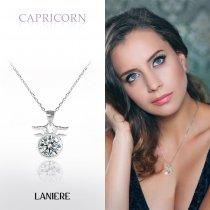 ZODIAC Colier din Argint LANIERE - Zodia Capricorn