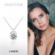 ZODIAC Colier din Argint LANIERE - Zodia Sagetator