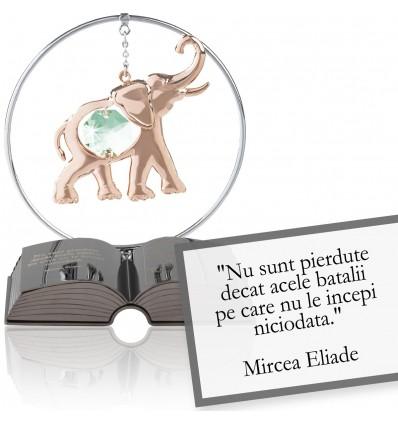 """Mircea Eliade - Despre viata - Colectia """"Citate motivationale cu cristale Swarovski"""""""