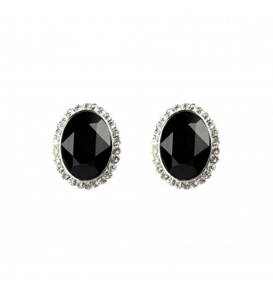 Black Passion - Cercei cu cristale Swarovski