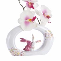 "Vaza ""Pink Retro Bunny"" Klimt - Goebel"