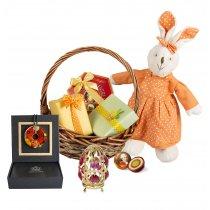 Happy Easter Lady - Cos de Paste
