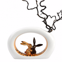 "Vaza din portelan ""Tiger Bunny"" by Goebel"