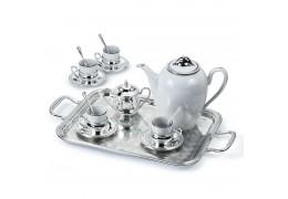 """Set argintat pentru cafea """"Sera"""" by Chinelli Italy"""