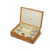 Set argintat pentru ceai by Chinelli Italy