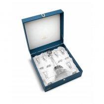 Set argintat pentru vodca by Chinelli Made in Italy