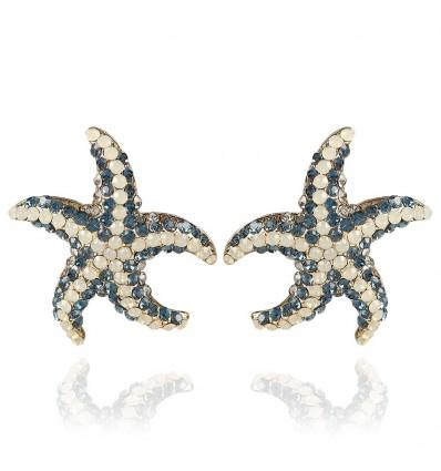 "Cercei cu cristale Swarovski ""Sea Star"" - PARURE Milano"