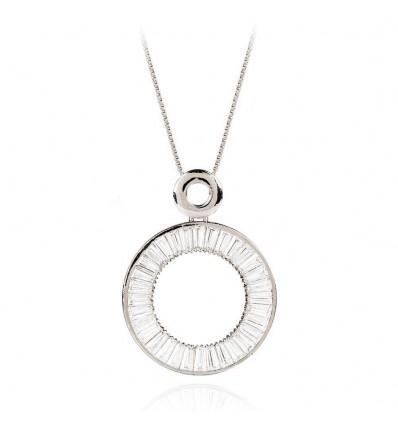 """Colier cu cristale Swarovski """"Crystal Ring"""" - PARURE Milano"""