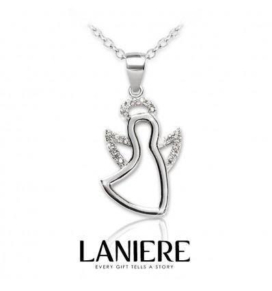 """Colier din argint 925 cu cristale """"Jolly Angel"""" LANIERE"""