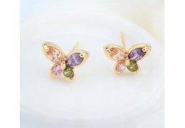 """Cercei cu cristale austriece """"Butterflies"""""""