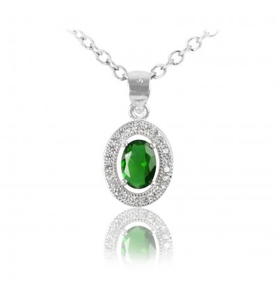 "Martisor pandantiv din argint 925 ""Emerald Sky"""