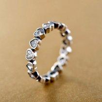 """Inel din argint 925 cu cristale zirconiu """"Lovely"""""""