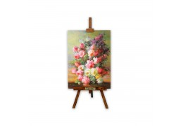 Tablou pe sevalet - Aranjament floral