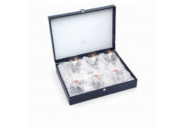 "Set de 6 pahare pentru vin ""Arabesque Rose Gold"" by Chinelli Italy"