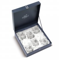 "Set de 6 pahare pentru whisky ""Luck"" by Chinelli Italy"