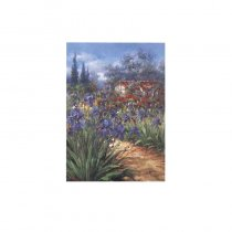 Gradinita cu flori - tablou pe sevalet
