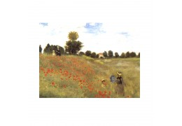 """Campul cu maci"" Claude Monet - tablou pe sevalet"